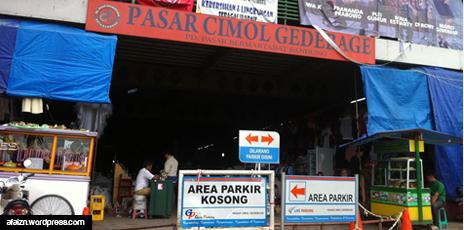 Pasar Cimol Gedebage : Entah Kata CImol itu Berasal Dari Mana